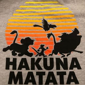 Disney's The Lion King Hakuna Matata Tee 2XL NWT